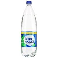 Вода Бонаква чистая питьевая газированная 1,5л