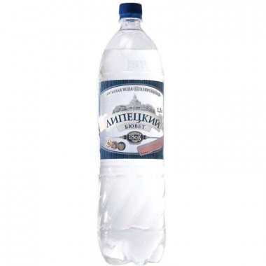 Вода питьевая Липецкий Бювет газ. 1,5л