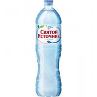 Вода Святой источник минеральная негазированная 1,5л
