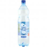 Вода Семь ручьев минеральная питьевая столовая газ 1,5л