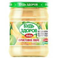 Пюре АВС Яблочно-банановое без сахара 240г