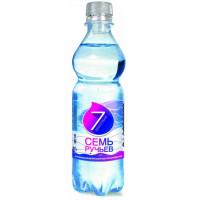 Вода Семь ручьев минеральная питьевая столовая негаз 0,5л