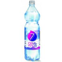 Вода Семь ручьев минеральная питьевая столовая негаз 1,5л