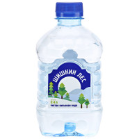 Вода Шишкин лес питьевая 0,4л