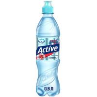 Напиток Аква Минерале Актив негаз со вкусом граната 0,6л