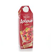 Морс Добрый брусника-морошка 1л