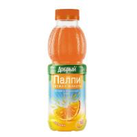 Напиток Добрый Палпи апельсиновый 0,45л пэт