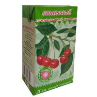 Напиток сокосодержащий Славмо вишневый 1л