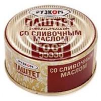Паштет Рузком печеночный со сливочным маслом 117г