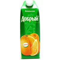 Нектар Добрый апельсиновый кв. уп. 1л