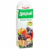 Нектар Добрый смесь фруктов и ягод 1л