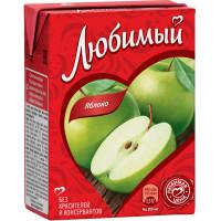 Нектар Любимый яблочный 0,2л
