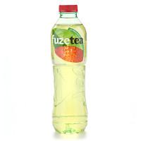 Чай освежающий Фьюз зеленый клубника-малина 1л пэт