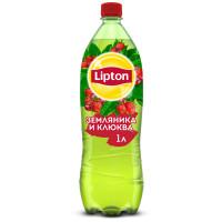 Чай холодный Липтон вкус земляника-клюква 1л