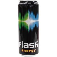 Напиток безалкогольный Флэш Ап Энергия тонизирующий с кофеином и таурином 0,33л ж/б