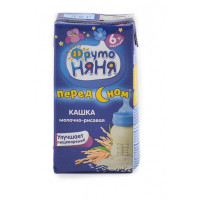Каша Фруто-няня молочно-рисовая 6+ 0,2л