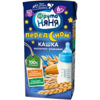 Кашка Фруто-няня мультизлаковая молочная готовая к употреблению 200мл