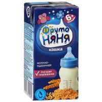 Кашка Фруто-няня пшеничная молочная готовая к употреблению 200мл