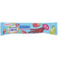 Кусочки Фруто-няня фруктовые Осьминожка яблоко/малина 16г