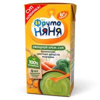 Крем-суп Фруто-няня овощной брокколи, цветная капуста, морковь с 6 мес. 200мл