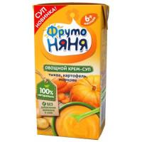 Крем-суп Фруто-няня тыква, картофель, морковь с 6 мес. 200мл