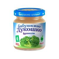 Пюре Бабушкино лукошко брокколи с 4мес. 100г