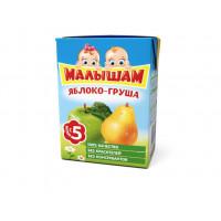 Нектар Фруто-няня Малышам яблоко-груша 0,2л