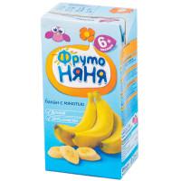 Сок Фруто-няня банан с мякотью 200мл