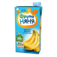 Сок Фруто-няня банан с мякотью детский 0,5л