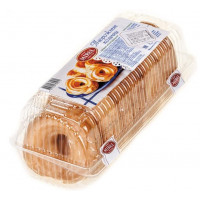 Набор пирожных Мирель колечки творожные 210г
