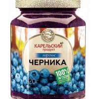 Варенье Карельский продукт из черники 320г ст/б