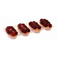 Набор пирожных Невские берега песочно-ягодное с вишней 380г