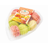 Набор пирожных Петра макарони цветные 230г