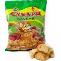 Сухари Кас-кад сдобные ореховые 300г