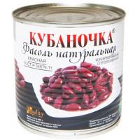 Фасоль Кубаночка красная ж/б 400г