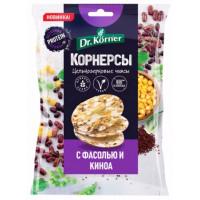 Корнерсы Д.Кернер кукурузно-рисовые с горошком, фасолью и киноа 50г