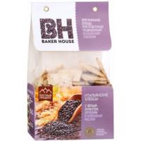 Хлебцы Бейкер Хаус кунжут/отруби/оливковое масло 250г