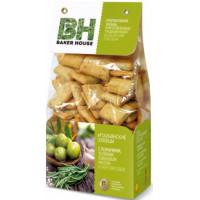 Хлебцы Бейкер Хаус розмарин/чеснок/оливковое масло 250г