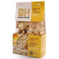 Хлебцы Бейкер Хаус семена подсолнечника/оливковое масло/соль 250г