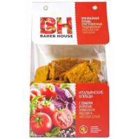 Хлебцы Бейкер Хаус томат/орегано/оливковое масло/соль 250г