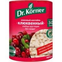 Хлебцы Д.Кернер злаковый коктейль клюквенный 100г