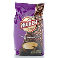 Кофе Жокей традиционный жареный в зернах 400г