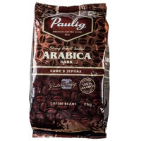 Кофе Паулиг Арабика темная обжарка зерно 1кг
