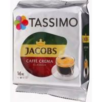 Кофе Якобс Монарх Тассимо Кафе Крема капсулы 112г 16 капсул
