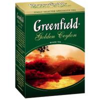 Чай Гринфилд голден цейлон черный 100г