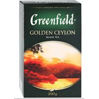 Чай Гринфилд голден цейлон черный 200г