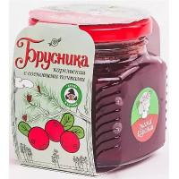 Варенье Мама Карелия Брусника карельская с сосновой почкой 250г ст/б