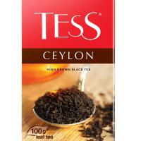 Чай Тесс Цейлон черный 100г