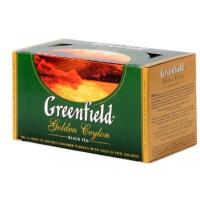 Чай Гринфилд голден цейлон черный 25пак. 50г