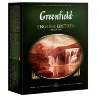 Чай Гринфилд Инглиш Эдишн 100пак. 200г